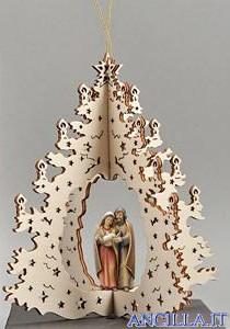 Albero di Natale Gruppo Sacra Famiglia Pema