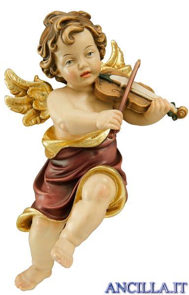Angelo Raffaello con violino