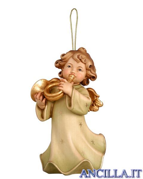 Angioletto con corno