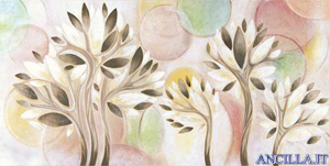 Armonia della natura - decorato su pannello piatto