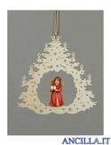 Albero di Natale con Angelo in piedi regalo