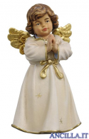 Angelo campana in piedi che prega