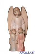 Angelo custode con bambini (bianco) Emily Collection