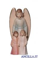Angelo custode con bambini (blu) Emily Collection