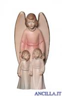 Angelo custode con bambini (rosso) Emily Collection