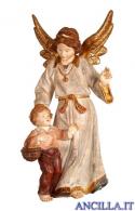 Angelo custode con bambino classico oro zecchino