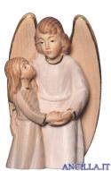 Angelo custode con bimba (bianco) Emily Collection