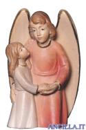 Angelo custode con bimba (rosso) Emily Collection