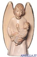 Angelo custode con bimbo (bianco) Emily Collection