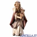 Anziano pastore con bastone Ulrich serie 12 cm