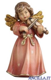 Angelo campana in piedi con violino