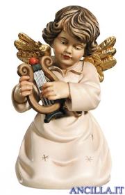 Angelo campana inginocchiato con lira