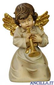 Angelo campana inginocchiato con tromba