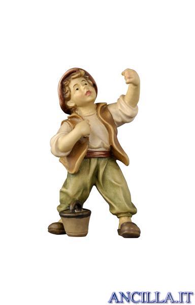 Bambino con secchio Rainell serie 44 cm
