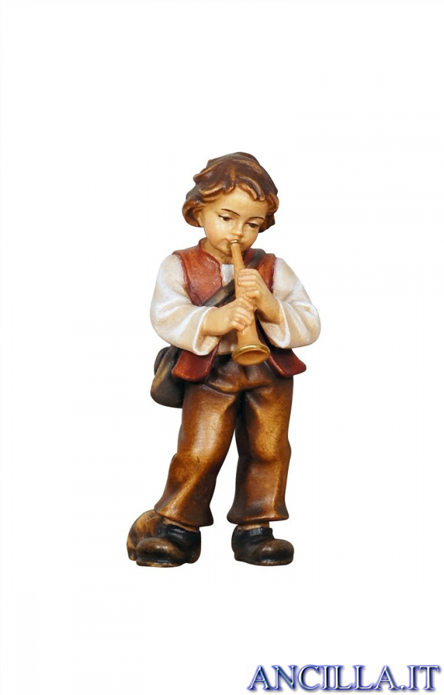 Bambino con tromba Kostner serie 16 cm