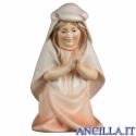 Bambina che prega inginocchiata Cometa serie 10 cm