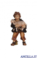 Bambino con agnello in braccio Rainell serie 44 cm