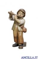 Bambino con flauto Pema serie 23 cm
