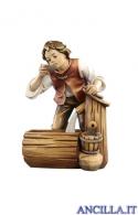 Bambino con fontana Kostner serie 9,5 cm