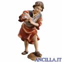 Bambino con galline Ulrich serie 15 cm