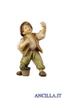 Bambino con secchio Kostner serie 12 cm