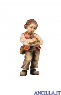 Bambino con tromba Mahlknecht serie 12 cm
