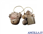 Bagagli per elefante Pema serie 9 cm