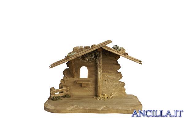 Capanna Tirolo per Sacra Famiglia (statuine 12 cm)