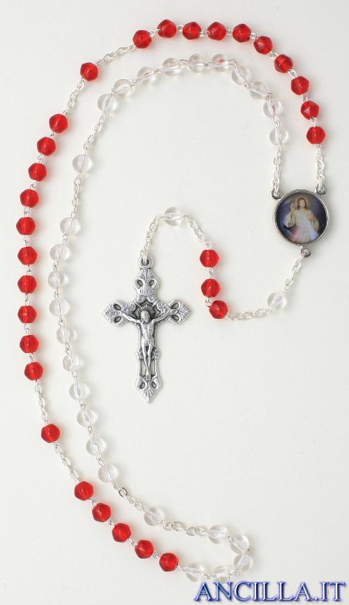 Corona del Rosario Gesù Misericordioso