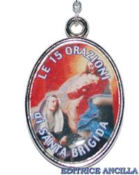 Corona del Rosario Santa Brigida
