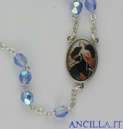 Corona del Rosario Madonna che scioglie i nodi