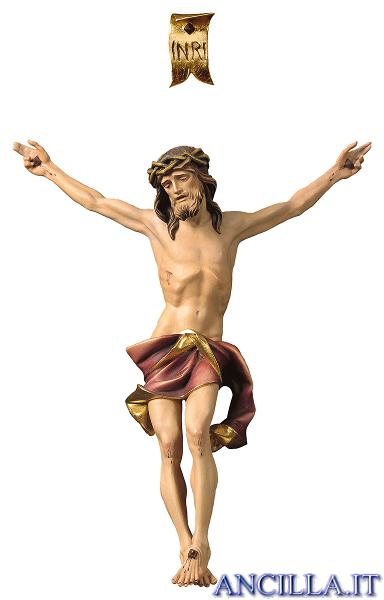 Corpo Nazareno dipinto a olio (rosso)