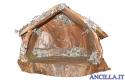 Capanna corteccia base rotonda (statuine 9 cm)