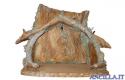 Capanna corteccia per Sacra Famiglia (statuine 30 cm)