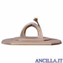 Capanna Famiglia Ricurva con ampliamento (statuine 16 cm)