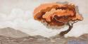 Colorata visione - decorato su pannello piatto