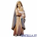 Contadina con neonato Cometa serie 16 cm