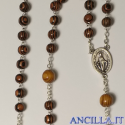 Corona del Rosario di San Giuseppe in legno