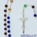 Corona del Rosario Missionaria vetro