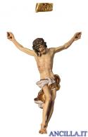 Corpo Barocco dipinto a olio (bianco)