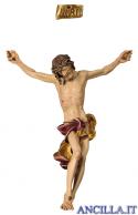 Corpo Barocco dipinto a olio (rosso)