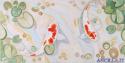 Creazioni di vita - decorato su pannello piatto