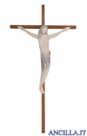 Cristo Ambiente Design rustico su croce dritta liscia