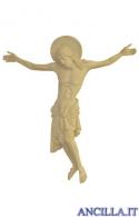 Cristo Cimabue legno naturale non dipinto