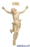 Cristo Leonardo cerato filo oro