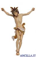 Cristo Leonardo con raggiera dipinto a olio