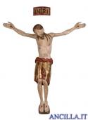 Cristo San Damiano finitura antica manto oro zecchino