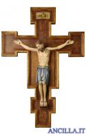 Cristo San Damiano su croce oro zecchino Cimabue