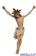 Cristo Siena con raggiera dipinto a olio