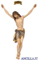 Cristo Siena in fibra di vetro dipinto a olio